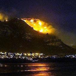 Fires Rage In Cape Town's Deep South