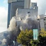 WATCH: The Tulip Hotel in Cape Town demolished