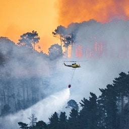 Fish Hoek fire 'reasonably contained'