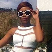 Bonang is loving Cape Town!