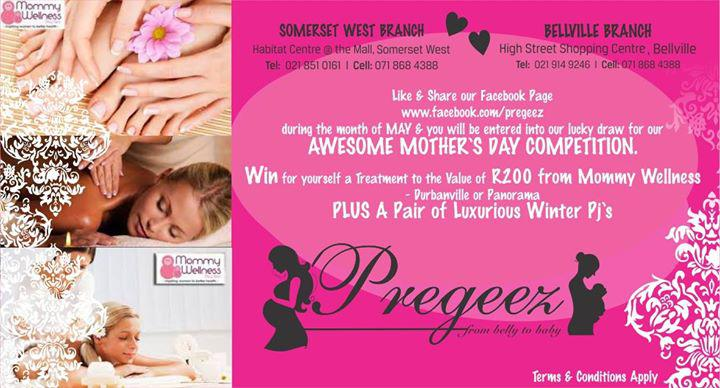 Competition! Pregeez - Funky Maternity Wear & Treatment