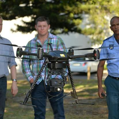 City of Cape Town's crime-fighting drones in action