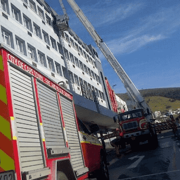Cape Town CBD fire extinguished