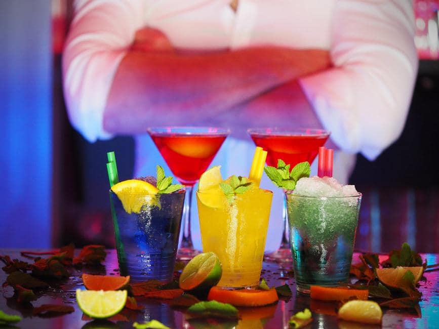 How not to behave at the staff party