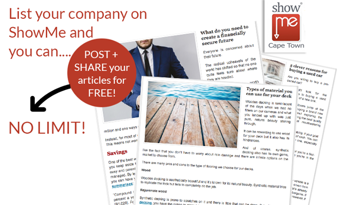 List your business in our business directory and share your news