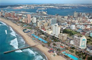Durban and Cape Town