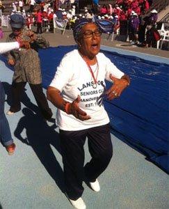 Cape Town woman, 77