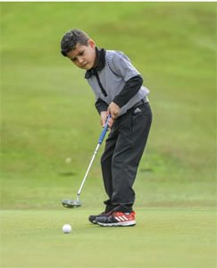 Cape Town's very own golf prodigy
