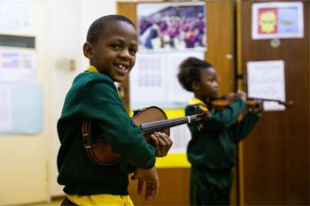 Orchestra's outreach programme