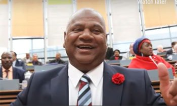 Cape Town's new mayor Dan Plato