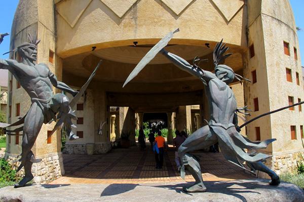 The Entrance to the Sibaya Casino and Entertainment Kingdom.