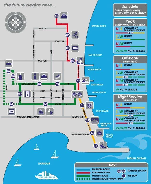 Durban Maps Showme Durban