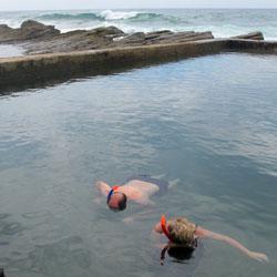 Chakas Rock tidal pool