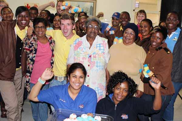 uShaka treats Tafta on Mandela Day! | News