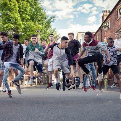 Inspiring young men to step out in the world of dance