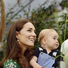 Britain's Prince George turns one