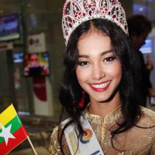 Beauty queen 'runs off with crown'