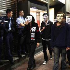 Hong Kong students call for democracy