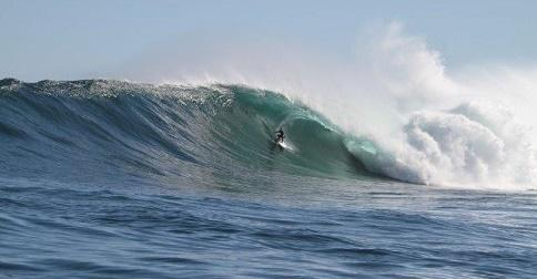 Andy Marr big waves at Dungeons