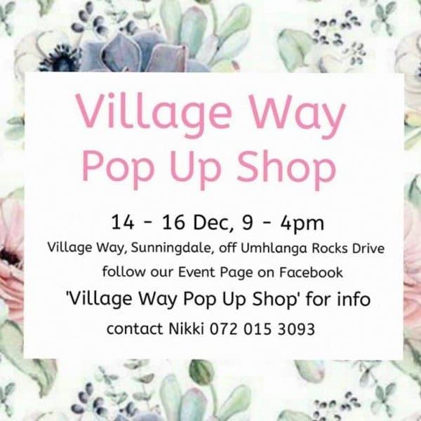 Village Way Pop Up Shop in Sunningdale, Umhlanga | Durban