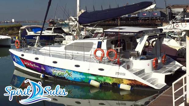 Spirit D' Sulis Luxury Yacht Charter | Durban