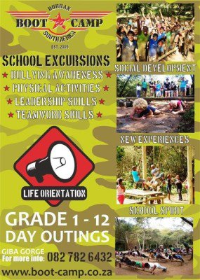 Boot Camp Durban School Excursions
