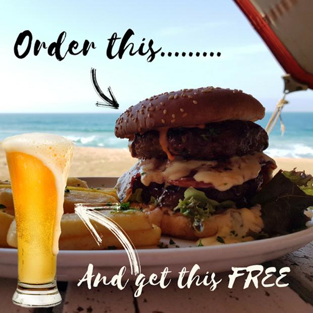 Beach Bum Burger Special