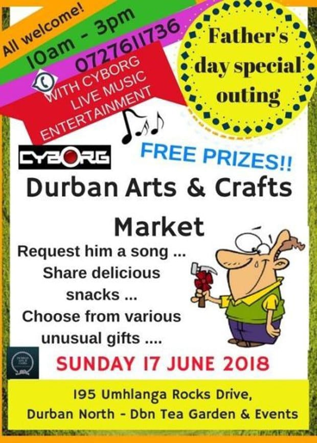 crafts market durban fathers day