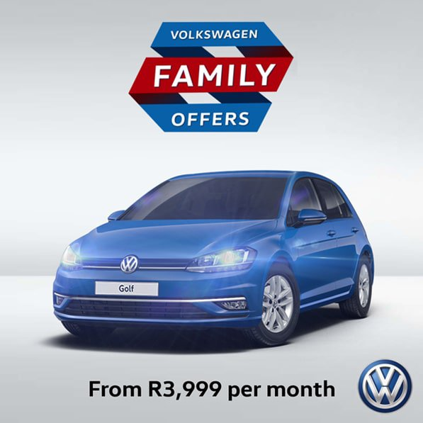 Golf Trendline from only R3 999pm