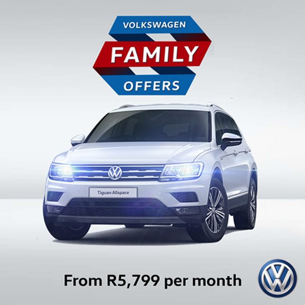 Tiguan Trendline DSG from only R5 799pm