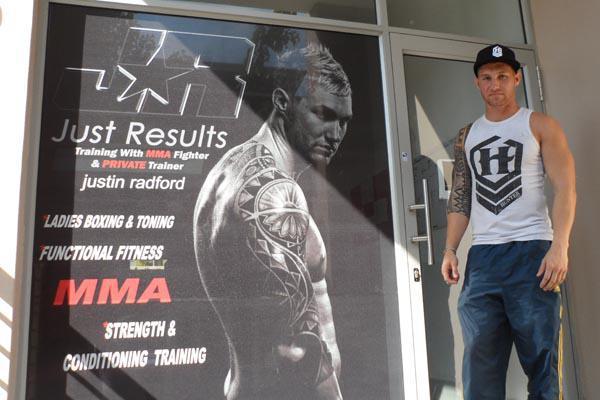 95f077fd1 Biography of local Fighter Justin Radford | Durban