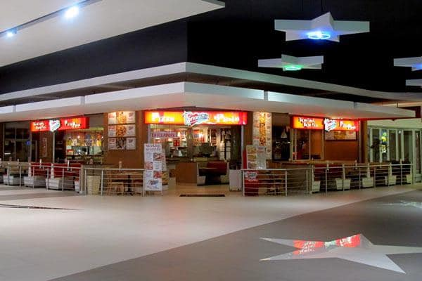 Fast Food At The Galleria Mall Amanzimtoti