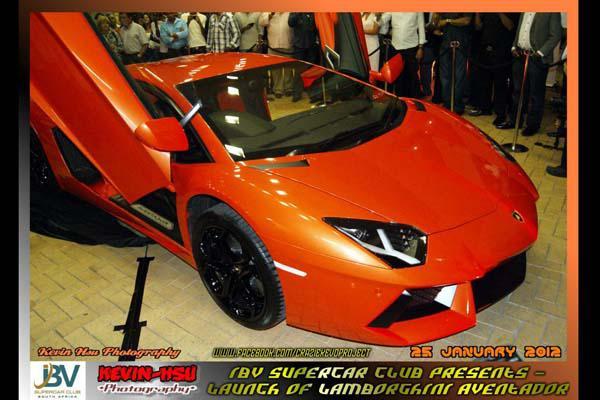 Ibv Supercar Club The Launch Of Lamborghini Aventador Ibv