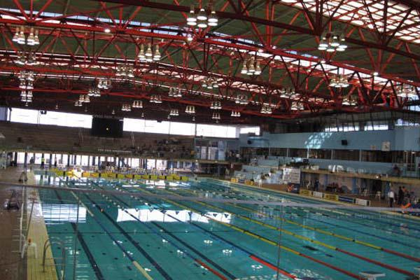 Swimming Competition At Kings Park Pool Kzn Durban