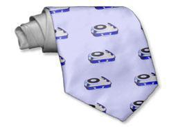 Turntable tie