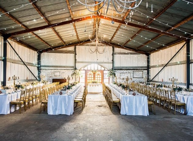 The Blue Barn Wedding Venue
