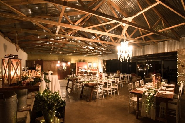Wedding in the Milk Shed @ Santa Paloma
