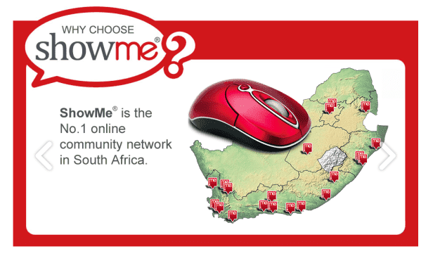 No 1 online community network on South Africa