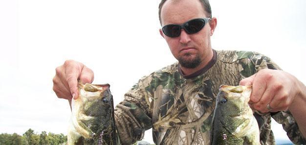 Bass Fishing @ Bridal Drift Dam cropped