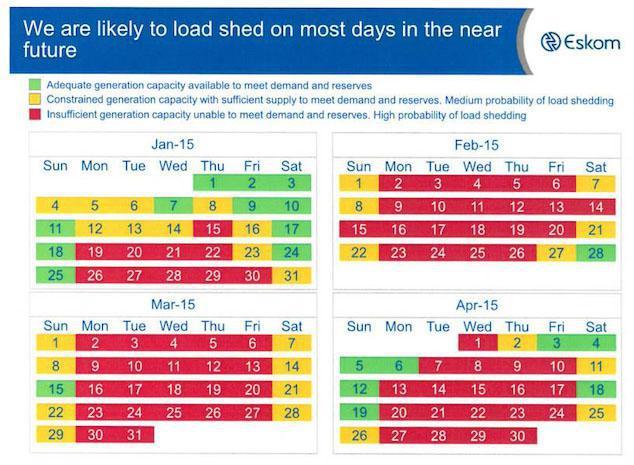 Eskom Load Shedding Schedule: Eskom Advises Load Shedding Will Happen Daily