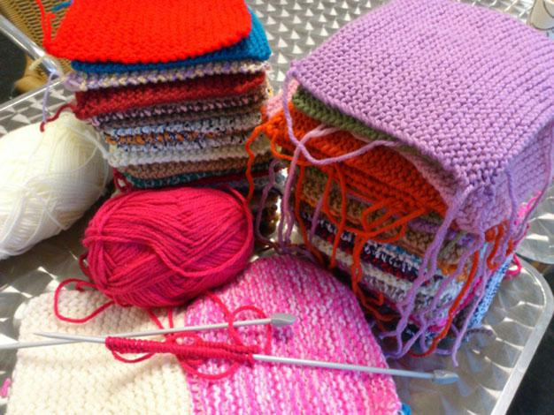Knitting Events London : East london is knitting squares for charity news