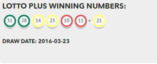 superlotto plus past winning numbers