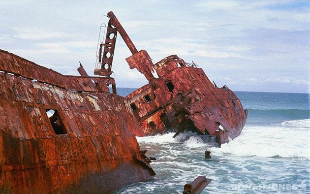 Jacaranda Shipwreck 'Wild Coast' - Jonah Jones