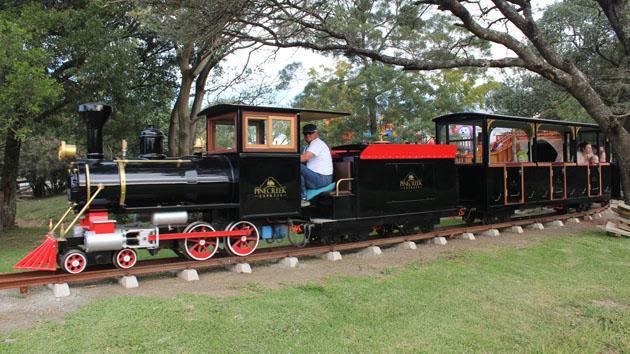 The Pinecreek Railway at Pinecreek Restaurant, Farmstall & Party Venue