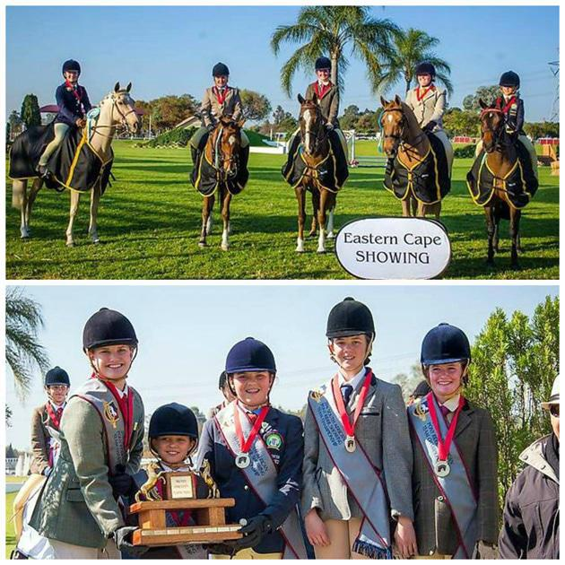 Our show stoppers -EC team ride off as 2016 SA novice showing
