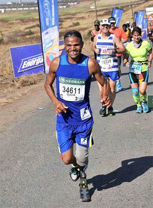 David Samuels - Ultra Marathon runner and below the knee amputee