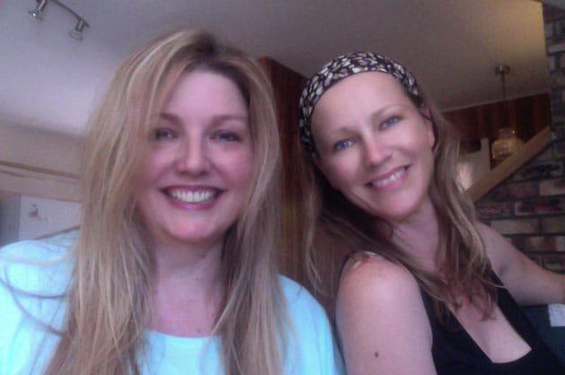 Sandy & Karen - Photoshop?  Never!  We have no wrinkles!