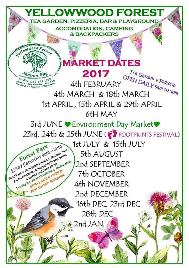 morgan-bay-yellowwood-forest-market-dates-for-2017