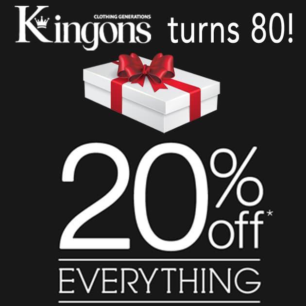 kingons-turns-80