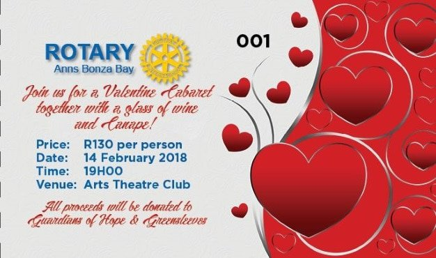 Valentine Cabaret at The Arts Theatre  East London